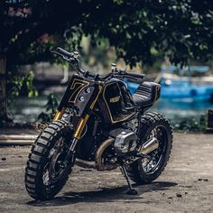 This BMW R nineT custom from Onehandmade was inspired by a Snickers bar (yes, really).