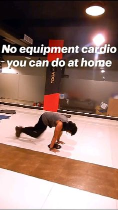 No equipment cardio you can do at home