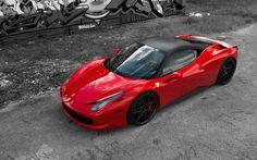 Beatiful Ferrari 458 Italia Hd Wallpaper
