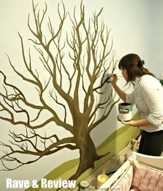 35 Stunning and Beautiful Tree Paintings for your inspiration | Read full article: webneel.com/... | more webneel.com/... | Follow us www.pinterest.com/webneel