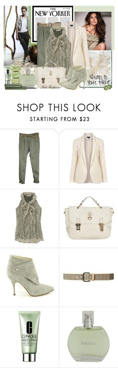 """Fresh mint"" by fabfashion ❤ liked on Polyvore featuring ASOS, Tusnelda Bloch, CO, Old Navy, Mulberry, Brian Atwood, Zara, Clinique, mint color and macarons"
