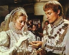 Mary Queen of Scots played by Vanessa Redgrave and Lord Darnely played by Timothy Dalton
