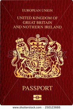 British Passport Stock Vectors & Vector Clip Art   Shutterstock