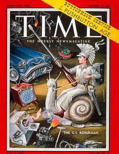 One of Boris Artzybasheff's TIME Magazine covers