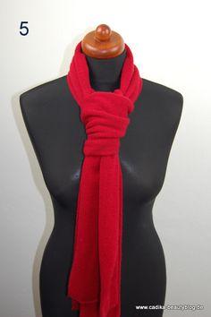 Schalbindetechnik, Krawattenknoten, Schal knoten,