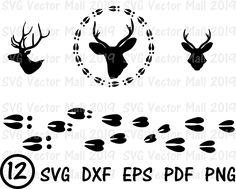Hunting Decal, Deer Hunting, Hunting Stuff, Cricut Svg Files Free, Cricut Fonts, Deer Stencil, Letter Stencils, Turkey Tracks, Bear Silhouette
