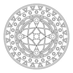 Tons of printable mandala designs free for download. Print these mandala coloring pages right from your browser.