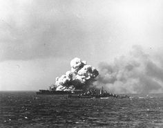 On this day in 1944, the US carrier Princeton is crippled by a kamikaze attack at the Battle of Leyte Gulf