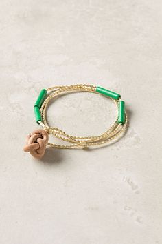 Knotted Bea Bracelet  #anthropologie  debating this purchase today :)