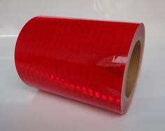 Avery Reflexband rot Typ3 #Sperrpfosten  #Begrenzungspfosten #Warnmarkierung
