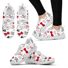 Hello Kitty Exclusive Women's sneakers and like OMG! get some yourself some pawtastic adorable cat apparel! Disneyland Outfits, Disney Inspired Outfits, Disney Outfits, Disney Style, Disney Fashion, Kawaii Fashion, Hello Kitty House, Hello Kitty Bag, Mickey Mouse Shoes