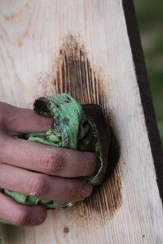 DIY: Состаривание дерева своими руками - eje vintage