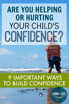 Tips for Raising Confident Kids & Nurturing Self Esteem Confident kids trust their own judgment, aren't afraid of failure, are better communicators, problem solvers and have confidence in their…Raising Raising may refer to: Peaceful Parenting, Gentle Parenting, Kids And Parenting, Parenting Hacks, Parenting Plan, Positive Self Esteem, Positive Discipline, Kids Discipline, Happy Kids