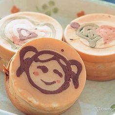抹茶紅豆車輪餅食譜 - 其他點心料理 - 楊桃美食網 專業食譜