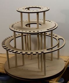 Rotating Tool Stand Organizer Lazy Susan (Tools are shown for display only, this listing is for the rotating tool shelf only. Easy Woodworking Projects, Woodworking Tools, Wood Projects, Woodworking Furniture, Furniture Plans, Youtube Woodworking, Popular Woodworking, Welding Projects, Into The Woods