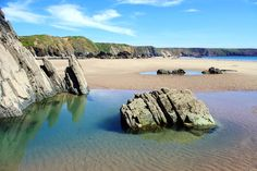 MARLOES SANDS, Pembrokeshire [WALES] #wildbeach