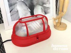 DIY - luminária de cabeceira