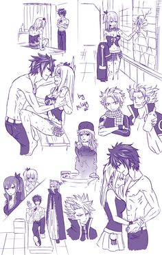 Gray and Lucy<< Am I the only one who noticed that Juvia is in a sink? Fairy Tail Gruvia, Fairy Tail Gray, Fairy Tail Funny, Fairy Tail Love, Fairy Tail Manga, Fairy Tail Ships, Anime Fairy, Fairy Tail Images, Fairy Tail Photos