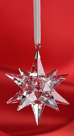 Swarovski Star Ornament 2014