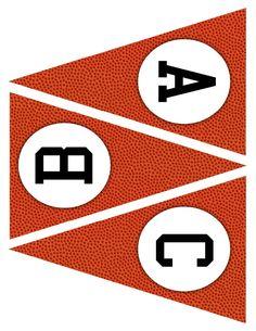 Printable Basketball Banner