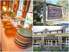 Vignettes from the Mentone Inn   buffet image: Cynthia Stinson of the Mentone Inn