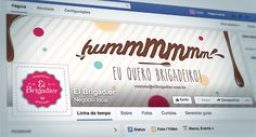 Facebook El Brigadier - Brigadeiros Gourmet | www.nuvemstudio.com