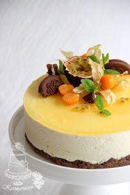 Passionhedelmä juustokakku Just Eat It, My Best Recipe, Best Dishes, No Bake Desserts, Let Them Eat Cake, Food Inspiration, Cake Decorating, Decorating Ideas, Baking Recipes