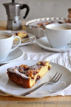 crostata morbida con marmellata di prugne