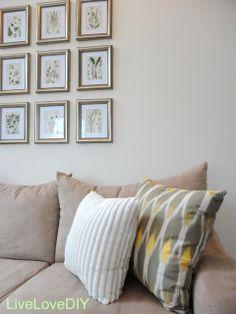 LiveLoveDIY: Freshening up the Living Room for 2012