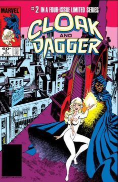 1983 - Cloak and Dagger Limited Series by Rick Leonardi and Terry Austin