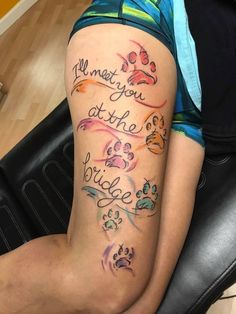 Unique dog tattoo Mom is part of Unique Dog Tattoos In Memory Of Tattoo A To Z Com - Paw print tattoo Tattoos Motive, Tribal Tattoos, Tattoos Skull, Mom Tattoos, Trendy Tattoos, Cute Tattoos, Body Art Tattoos, Small Tattoos, Tattoos For Women