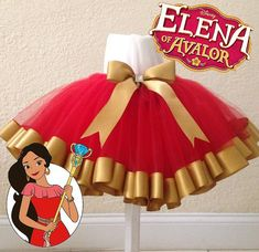 Elena of Avalor tutu by CreationsByBeeHappy on Etsy