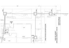 Plano de proyecto sanitario de vivienda unifamiliar de 2 pisos mail: consultores@arqydis.cl