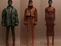 God Save the Queen and all: KANYE WEST: YEEZY SEASON 3 LOOKBOOK #kanyewest #yeezyseason3 #lookbook