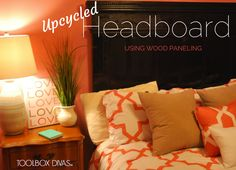 Upcycled Headboard M