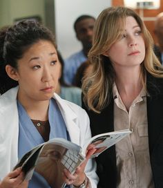 SANDRA Oh reveals the drama behind her decision to leave hit medical show Greys Anatomy after 10 years in key role. Izzie Stevens, Anatomy Images, Grays Anatomy Tv, Kate Walsh, Dark And Twisty, Sandra Oh, Cristina Yang, Dance It Out, Meredith Grey