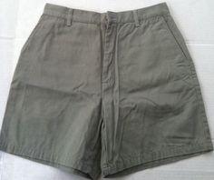 Women Short: Eddie Bauer Size 10 (Olive Green)  #EddieBauer #CasualShorts