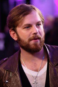Caleb Followill. The beard is perfection.