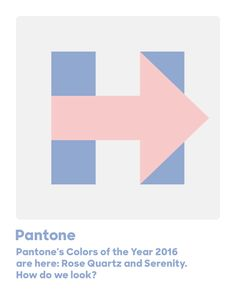 Pantone's Colors of the Year 2016 are here: Rose Quartz and Serenity. How do we look?