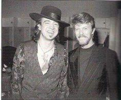 Stevie & David Bowie