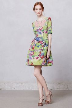 4 Summery Dresses From Peter Soms Collection for Anthropologie That Im Saving Up For