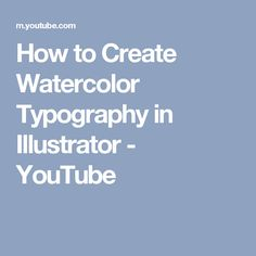 In the first of a two part tutorial, we're going to be creating an isometric style illustration using Adobe Illustrator and Photoshop. In our second tutorial, we'll use this graphic to create a. Watercolor Video, Watercolor Techniques, Watercolor Background, Watercolor Paper, Watercolor Paintings, Typography Tutorial, Welcome Packet, Watercolor Typography, Hand Lettering