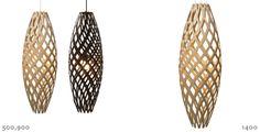 Фантастические лампы от дизайнера David Trubridge
