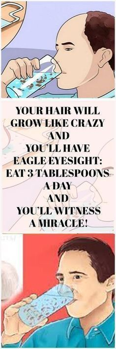 Your Hair Will Grow Like Crazy and You'll Have Eagle Eyesight: Eat 3 Tablespoons A Day And You'll Witness a Miracle! - Your Healthy Tips Health And Beauty, Health And Wellness, Health Tips, Health Fitness, Health Club, Healthy Beauty, Health Benefits, Hair Remedies, Health Remedies