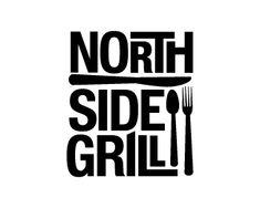 restaurant logo: North Side Grill logo. Feeling of type.