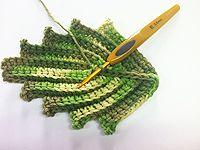 ideas crochet lace edging leaves for 2019 Crochet Leaf Patterns, Crochet Lace Edging, Crochet Leaves, Form Crochet, Irish Crochet, Crochet Designs, Crochet Doilies, Crochet Flowers, Crochet Stitches