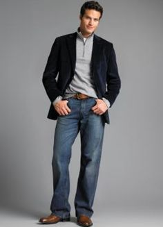 b221d8920f business casual for men jeans oM1zzOoK Business Casual Attire For Men