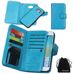 11 beste afbeeldingen van samsung galaxy s6 edge cases samsungfor samsung galaxy s6 edge plus, drunkqueen® wallet leather flip card holder case,