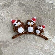 15 FREE Christmas Decoration Crochet Patterns
