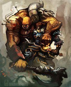 World Of Warcraft, Warcraft 3, Storyboard, Varian Wrynn, Garrosh Hellscream, Dc Comics, Medieval, Furry Drawing, Animation